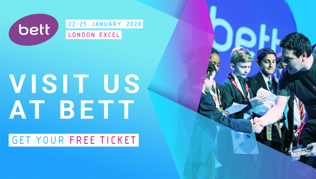 Visit us at BETT