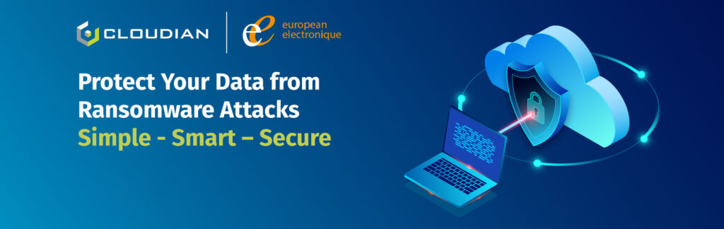 European Electronique and cloudian protect your data