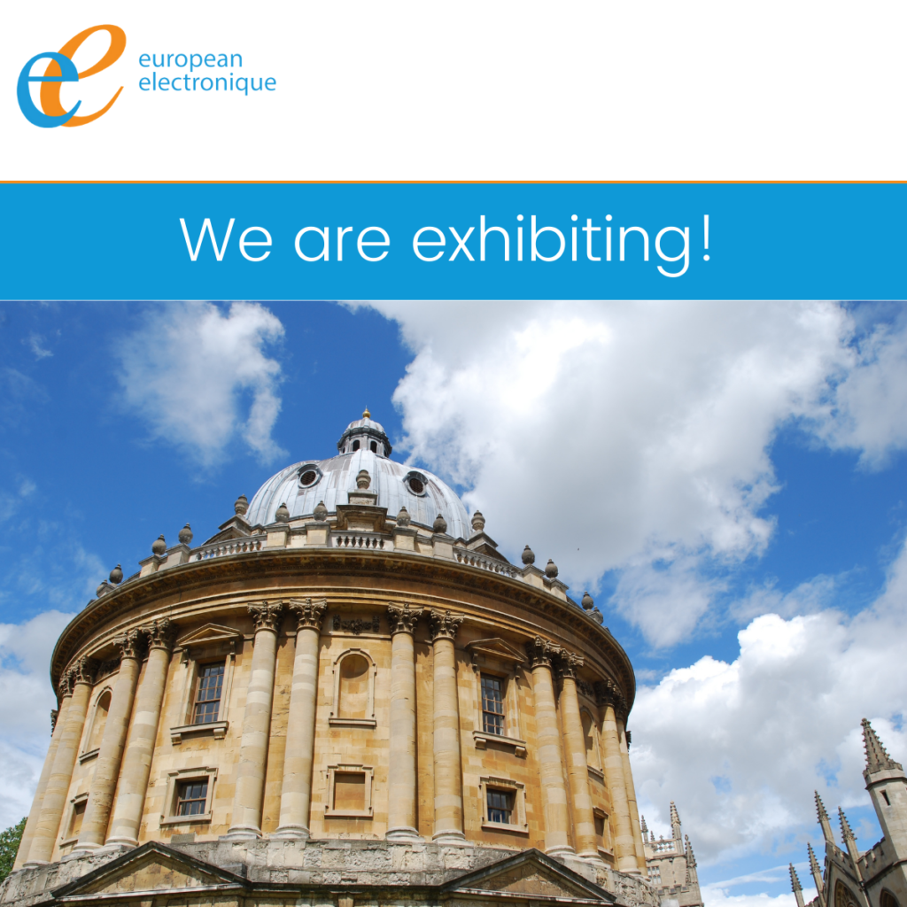 European Electronique are attending the University of Oxford Innovation and Technology event 2021