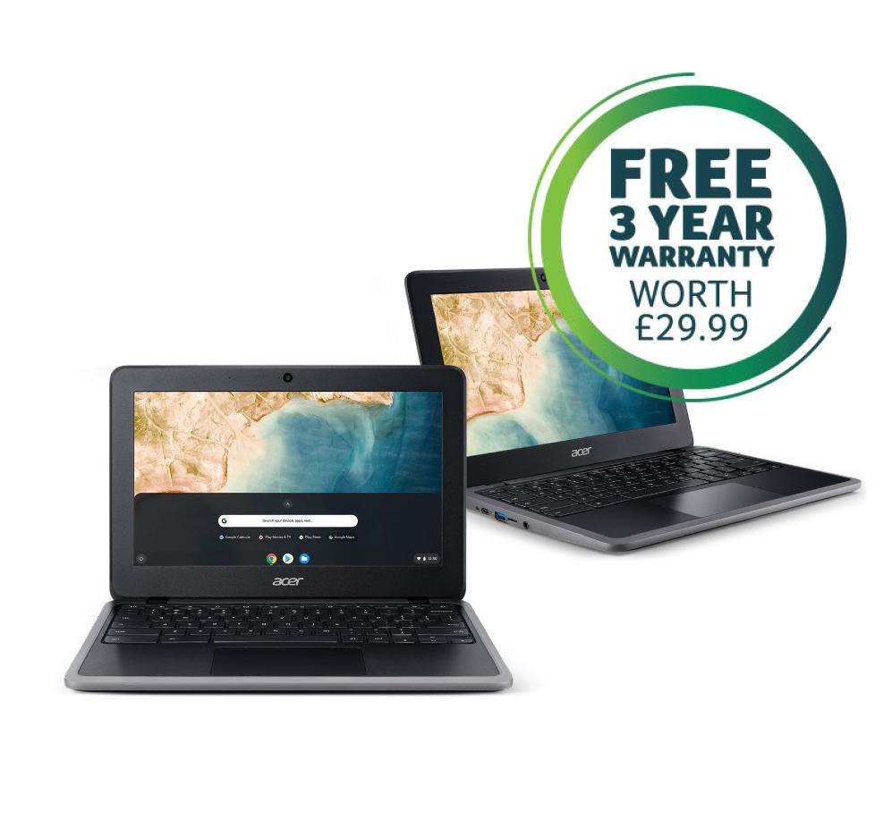 Laptop, Chromebook 311. Free 3 Year Warranty